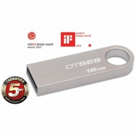 USB флеш накопитель Kingston 16Gb DataTraveler SE9 (DTSE9H/16GB / DTSE9H/16GBZ)