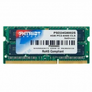 Модуль памяти для ноутбука SoDIMM DDR2 4GB 800 MHz Patriot (PSD24G8002S)