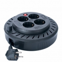 Сетевой удлинитель SVEN Spool 3G-5M, black (Spool 3G-5m)