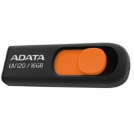 USB флеш накопитель ADATA 16Gb UV120 black-orange (AUV120-16G-RBO)