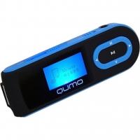 mp3 плеер Qumo QUMO Connect 4GB Blue (QUMO CONNECT 4GB black+blue)
