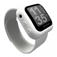 mp3 плеер Qumo QUMO Sportswatch 4GB White (QUMO SPORTSWATCH 4GB white)