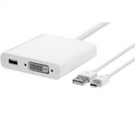 Кабель мультимедийный Apple Mini DisplayPort to Dual-Link DVI Adapter (MB571Z/A)