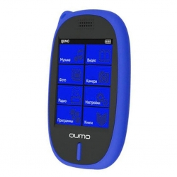 mp3 плеер Qumo SENS 4Gb blue