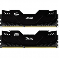 Модуль памяти для компьютера DDR3 16GB (2x8GB) 1866 MHz Dark Series Black Team (TDKED316G1866HC10SDC01)