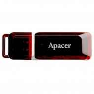 USB флеш накопитель Apacer Handy Steno AH321 black-red (AP32GAH321R-1)
