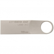 USB флеш накопитель Kingston 16GB DataTraveler SE9 G2 Metal Silver USB 3.0 (DTSE9G2/16GB)