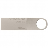 USB флеш накопитель Kingston 32GB DataTraveler SE9 G2 Metal Silver USB 3.0 (DTSE9G2/32GB)