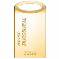 USB флеш накопитель Transcend 32GB JetFlash 710 Metal Gold USB 3.0 (TS32GJF710G)