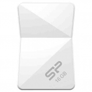 USB флеш накопитель Silicon Power 16Gb Touch T08 White USB 2.0 (SP016GBUF2T08V1W)