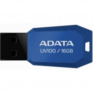 USB флеш накопитель ADATA 16Gb UV100 Blue USB 2.0 (AUV100-16G-RBL)