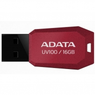 USB флеш накопитель ADATA 16Gb UV100 Red USB 2.0 (AUV100-16G-RRD)