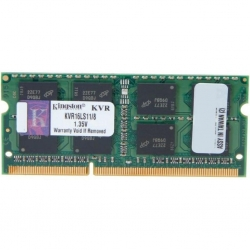 Модуль памяти для ноутбука SoDIMM DDR3 8GB 1600 MHz Kingston (KVR16LS11/8BK)