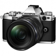 Цифровой фотоаппарат OLYMPUS E-M5 mark II 12-40 PRO Kit silver/black (V207041SE000)