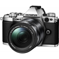 Цифровой фотоаппарат OLYMPUS E-M5 mark II 14-150 II Kit silver/black (V207043SE000)