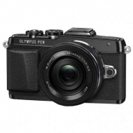 Цифровой фотоаппарат OLYMPUS E-PL7 14-42 mm Pancake Zoom Kit black/black (V205073BE001)