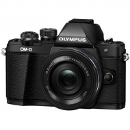 Цифровой фотоаппарат OLYMPUS E-M10 mark II Pancake Zoom 14-42 Kit black/black (V207052BE000)