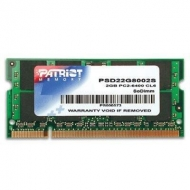 Модуль памяти для ноутбука SoDIMM DDR2 2GB 800 MHz Patriot (PSD22G8002S)