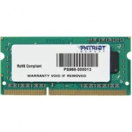 Модуль памяти для ноутбука SoDIMM DDR3 4GB 1333 MHz Patriot (PSD34G133381S)