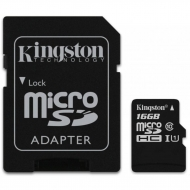 Карта памяти Kingston 16GB microSDHC Class 10 UHS-I (SDC10G2/16GB)