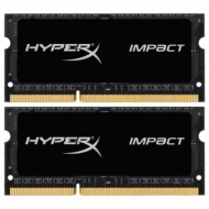 Модуль памяти для ноутбука SoDIMM DDR3L 16GB (2x8GB) 1866 MHz HyperX Impact Black Kingston (HX318LS11IBK2/16)