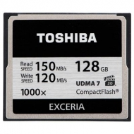 Карта памяти TOSHIBA 128GB Compact Flash 1000X (CF-128GTGI(8)