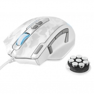 Мышка Trust GXT 155W Gaming Mouse - white camouflage (20852)