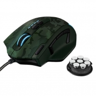 Мышка Trust GXT 155C Gaming Mouse - green camouflage (20853)