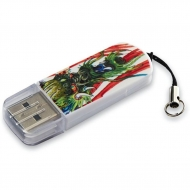 USB флеш накопитель Verbatim 16GB STORE'N'GO MINI TATTOO DRAGON USB 2.0 (49888)