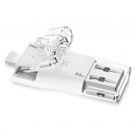USB флеш накопитель PhotoFast 64GB i-Flashdrive MAX White USB/Lightning (IFDMAX64GB)