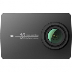 Экшн-камера Xiaomi Yi 4K Black Travel International Edition+ Remote control (YI-90008)