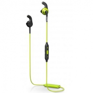Наушники PHILIPS SHQ6500 ActionFit Carbon lime Wireless (SHQ6500CL/00)