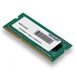 Модуль памяти для ноутбука SoDIMM DDR3 4GB 1600 MHz Patriot (PSD34G1600L81S)