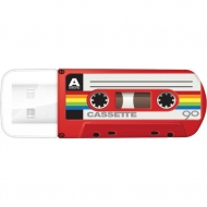 USB флеш накопитель Verbatim 32GB Mini cassette edition Red USB 2.0 (49392)