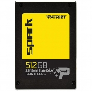 "Накопитель SSD 2.5"" 512GB Patriot (PSK512GS25SSDR)"