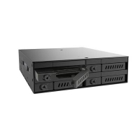 "Бэкплейн CHIEFTEC 1x5.25""/4x2.5"" Hot-Swap Metal (CMR-425)"