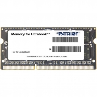 Модуль памяти для ноутбука SoDIMM DDR3L 4GB 1600 MHz Patriot (PSD34G1600L2S)