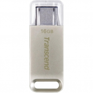 USB флеш накопитель Transcend 16GB JetFlash 850 Metal USB 3.1 Type-C (TS16GJF850S)