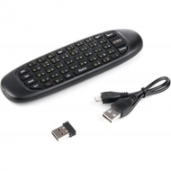 Универсальный пульт Vinga Wireless keyboard & air Mouse for TV, PC PS Media (AM-101)