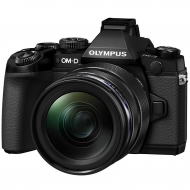 Цифровой фотоаппарат OLYMPUS E-M1 mark II 12-40 Kit black/black (V207061BE000)