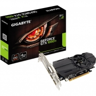 Видеокарта GIGABYTE GeForce GTX1050 Ti 4096Mb OC Low Profile (GV-N105TOC-4GL)