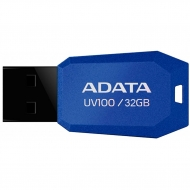 USB флеш накопитель ADATA 32GB DashDrive UV100 Blue USB 2.0 (AUV100-32G-RBL)