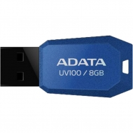 USB флеш накопитель A-DATA 8GB DashDrive UV100 Blue USB 2.0 (AUV100-8G-RBL)