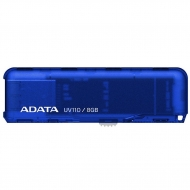 USB флеш накопитель A-DATA 8GB DashDrive UV110 Blue USB 2.0 (AUV110-8G-RBL)