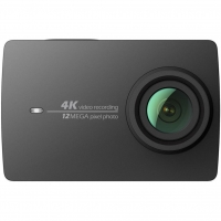 Экшн-камера Xiaomi Yi 4K Night Black International Edition + Waterproof box (Р28383)