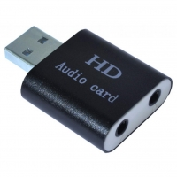 Звуковая плата Dynamode USB-SOUND7-ALU black