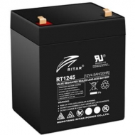 Батарея к ИБП Ritar AGM RT1245, 12V-4.5Ah, Black (RT1245B)