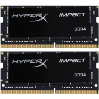 Модуль памяти для ноутбука SoDIMM DDR4 32GB (2x16GB) 2400 MHz HyperX Impact Kingston (HX424S14IBK2/32)