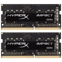 Модуль памяти для ноутбука SoDIMM DDR4 32GB (2x16GB) 2666 MHz HyperX Impact Kingston (HX426S15IB2K2/32)