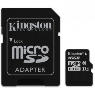Карта памяти Kingston 16GB microSDHC Class 10 UHS-I (act_SDC10G2/16GB)